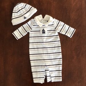 Janie & Jack Boys Outfit with Hat